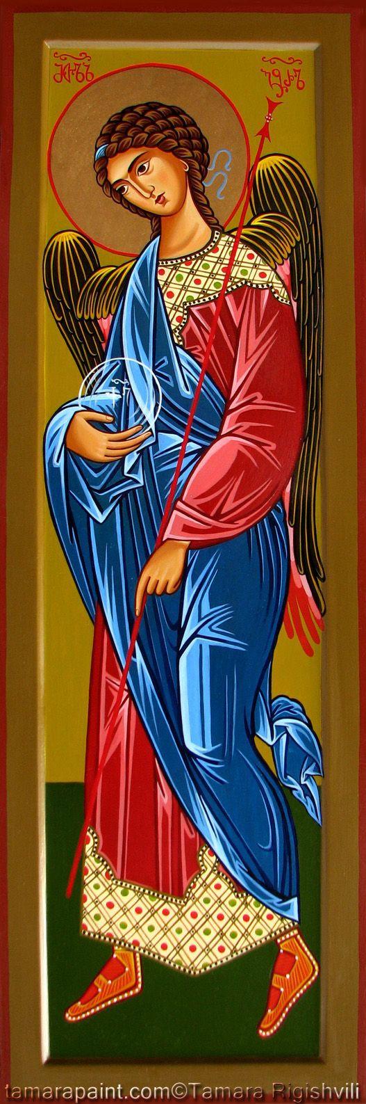 Archangel Gabriel by Tamara Rigishvili #icône
