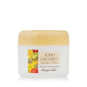 Crema per il viso allacido Glicolico per inverno e autunno