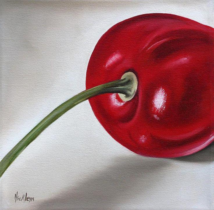 Cherry Painting  - Cherry Fine Art Print