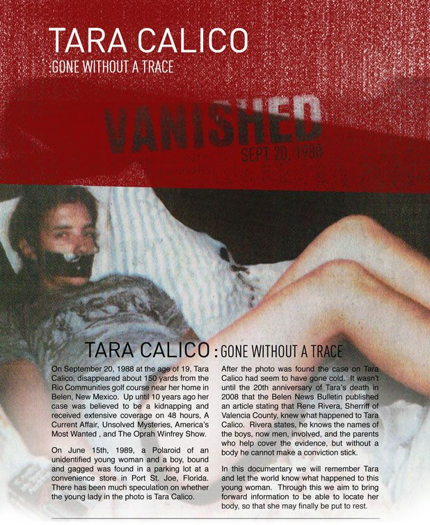 The official website for the Tara Calico documentary.  Visit and share at www.TaraCalico.com