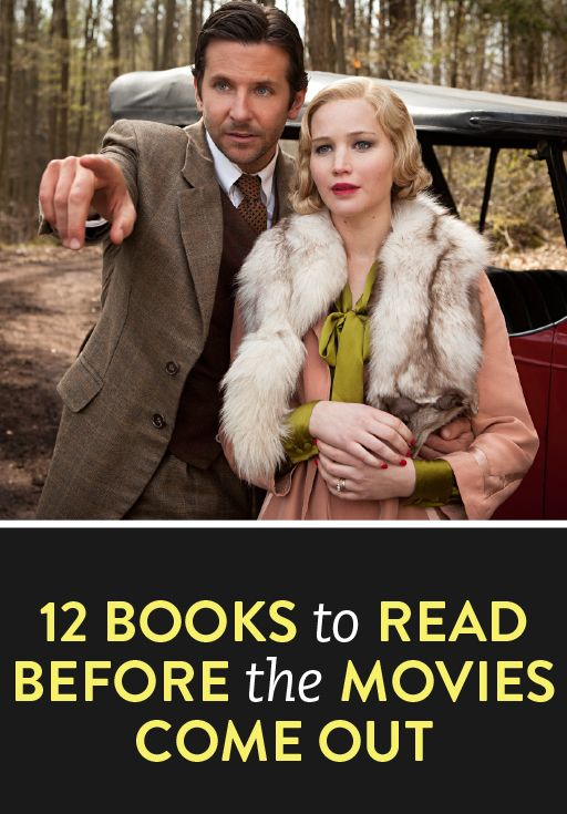 Movie adaptations are going to be big in 2015--read these 12 awesome books before the films come out