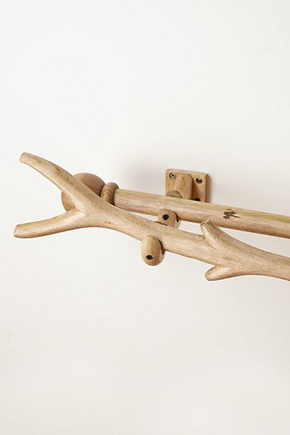 Curved Branch Curtain Rod #anthropologie