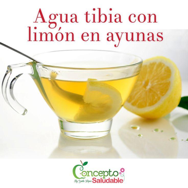 Beneficios de tomar agua tibia con limón todos los días en ayunas