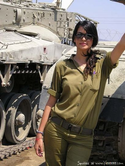 In fact, the Israeli Forces themselves are proud to promote their gorgeous female soldiers in order to encourage people to visit Israel. Description from pinterest.com. I searched for this on bing.com/images