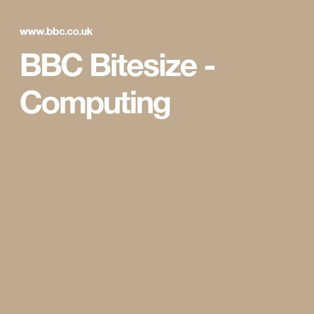 BBC Bitesize - Computing