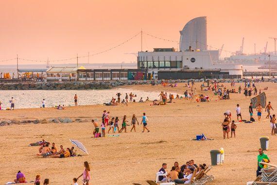 Plaja #Barceloneta