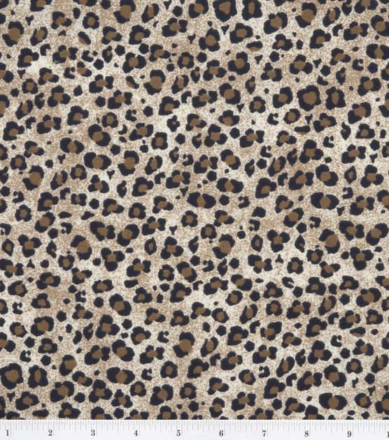 Nursery Fabric - Jungle Jive Leopard
