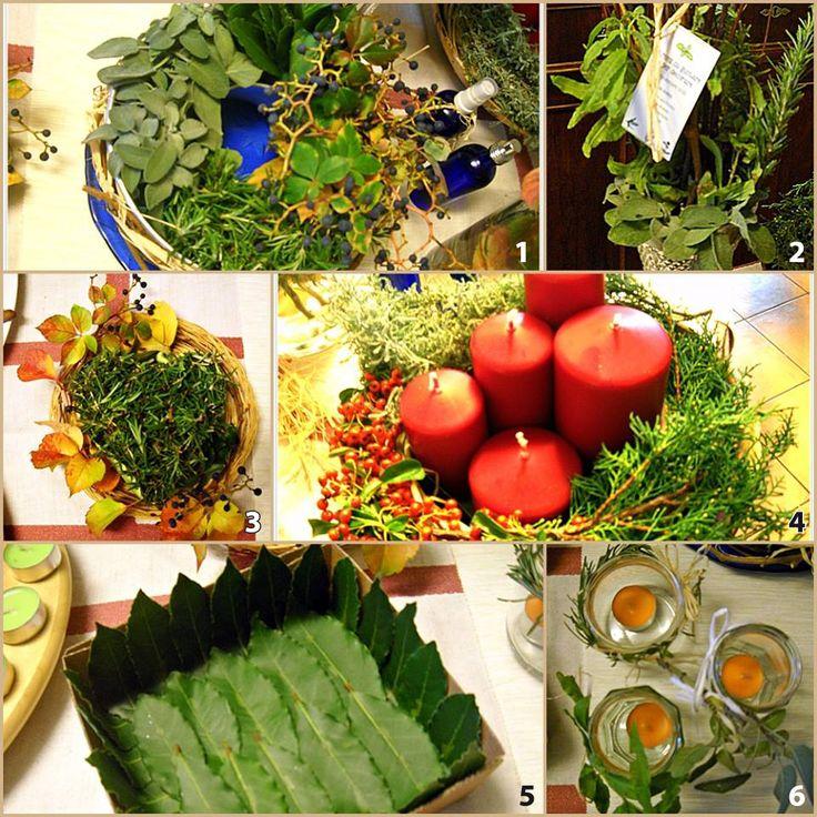Raffa e Angela di Original Marche vi forniscono tutte le spiegazioni per decorare la tavola con le erbe aromatiche in modo semplice e fai da te.