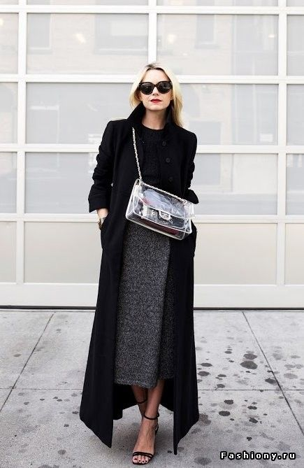 love her black trench