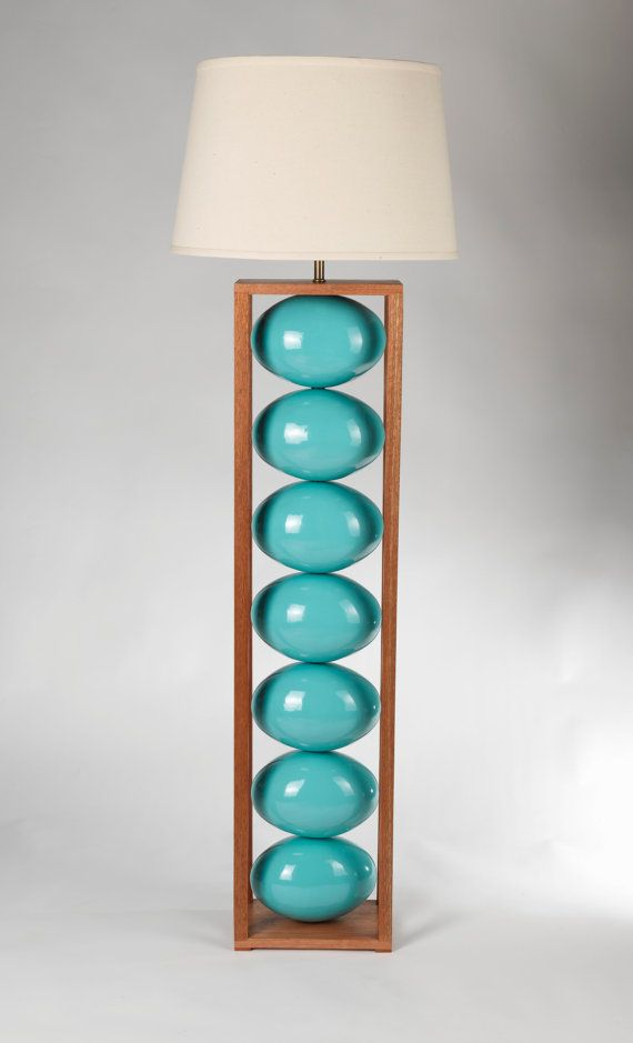 44 best floor and table lamps images on pinterest floor lamps turquoise ceramic and wood floor lamp mozeypictures Image collections