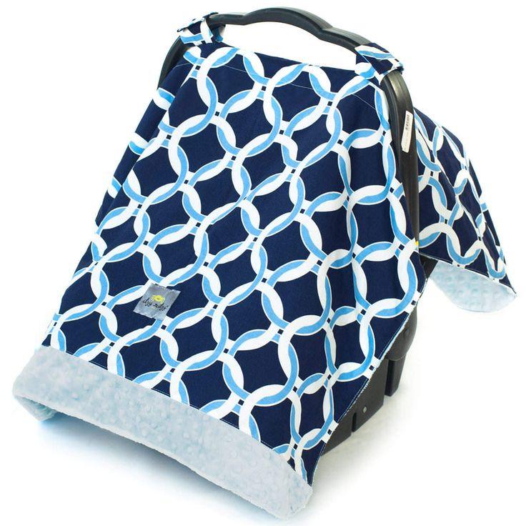 Cozy Happens Infant Car Seat Cover & Tummy Time Mat
