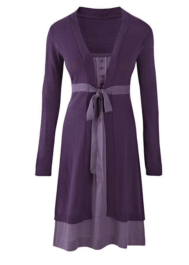 Kötött ruha Trendi kötött ruha dupla • 7999.0 Ft • bonprix