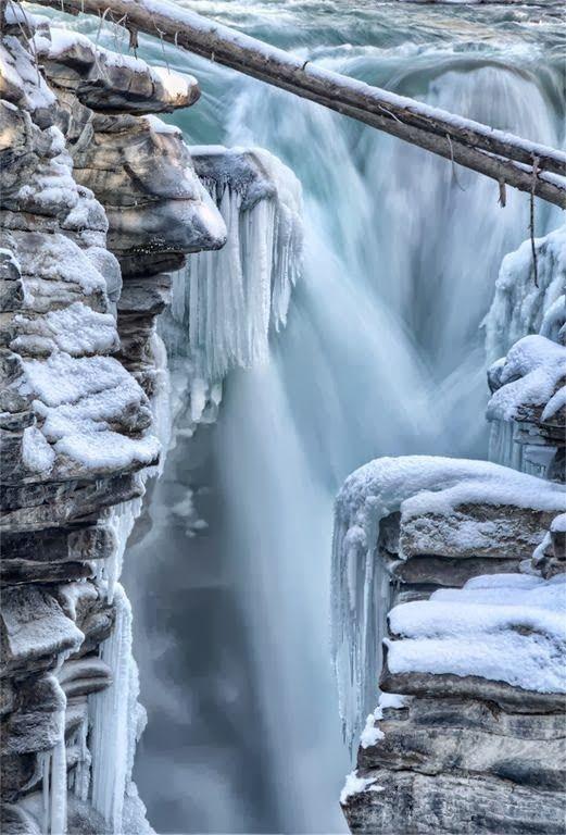 Athabasca Falls, Jasper National Park, Canada