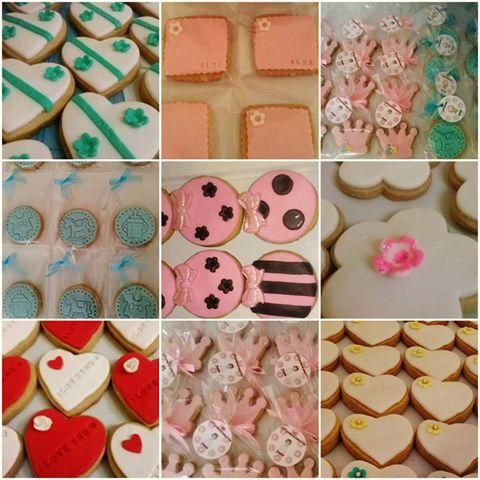 Nuestras galletas #comuniones #bautizos #cumpleaños