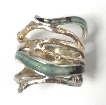 Secret Life of Jewelry - A Universe of Handcrafted Art to Wear: Graceful Yet Intense - Carrie Bilbo Jewelry