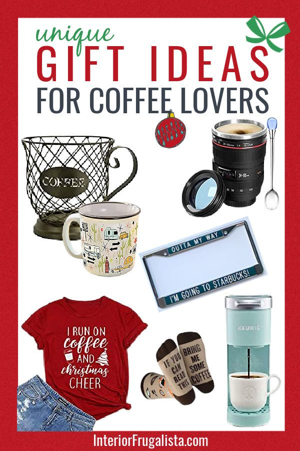 12 Unique Coffee Lovers Gift Ideas In 2020 Coffee Lover Coffee Lover Gifts Coffee Bean Candle