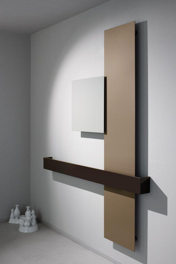 Tubes - Radiatore Square | Design: Ludovica+Roberto Palomba | Collezione: Elements | Anno: 2013 | Materiali: Alluminio verniciato | #design #minimal