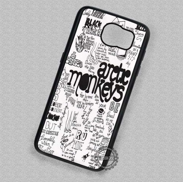 Arctic Monkeys Lyrics Collage - Samsung Galaxy S7 S6 S5 Note 7 Cases & Covers