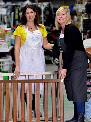"""Bayside Leader. March 27, 2014. """"St Kilda Mums relaunch Cots for Tots campaign"""""""