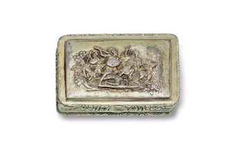 A REGENCY SILVER-GILT SNUFF BOX  MARK OF THOMAS PEMBERTON AND ROBERT MITCHELL, LONDON, 1819  Estimate - $1,000 - $1,500  Price Realized - $1,125  Sales totals are hammer price plus buyer's premium and do not reflect costs, financing fees or application of buyer's or seller's credits.    Sale 2373   Important English, Continental and American Silver   19 May 2010   New York, Rockefeller Plaza