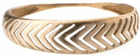 Herringbone bracelet by Bario-Neal, $140. The hand-carved herringbone pattern in bronze is made in Philadelphia with low impact, environmentally conscious practices. It comes to us from Kaight boutique in NYC.  Kaight is fired up about a more earth-friendly fashion community and wants to put customers together with smart design, ethically produced and eco friendly in nature. In the Daily Telegraph 17/11/12, Livia Firth names Kaight as one her favourite eco-boutiques abroad.