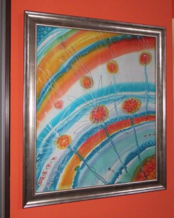 PÚPAVY  - v krásnom striebornom masívnom ráme, rozmer:83x71cm,  ocenený na výstave, cena 120,-€, odber len osobne