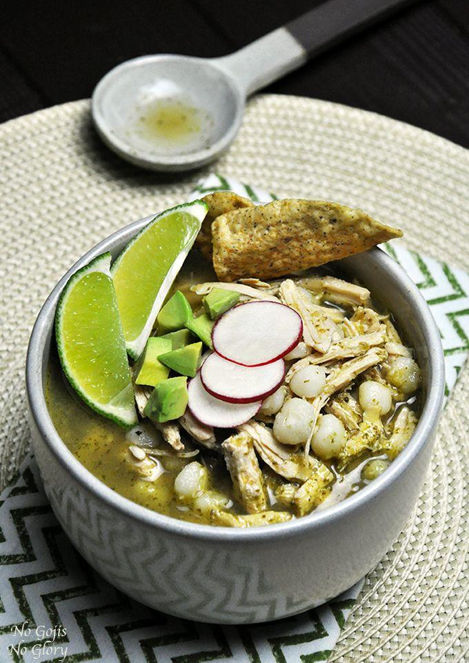 ... (Pozole) with Roasted Jalapeños   Recipe   Soups, Lights and Pozole