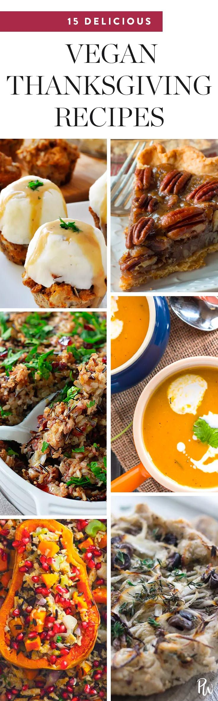 Here are 17 plant-based versions of your favorite Thanksgiving classics to satisfy thevegans at your table. #veganthanksgivingrecipes #thanksgivingrecipes #recipes #veganrecipes #vegan
