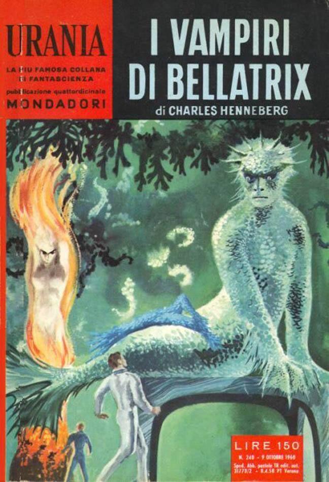 Urania #240 (1960-10-09) Arnoldo Mondadori Editore Karel Thole cover
