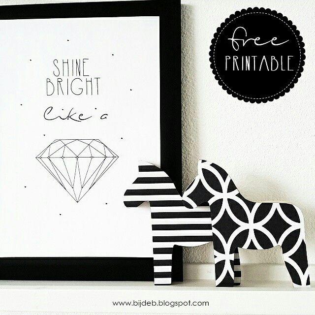 Download de free printable A4 poster bij www.bijdeb.blogspot.com