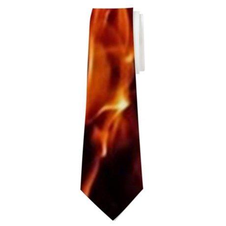 Flames Neck Tie on CafePress.com