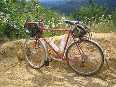 Catalog Shot (Archival Clothing) Tags: orange bike bicycle ostrich velo motobecane carradice luggedsteel grandjubile