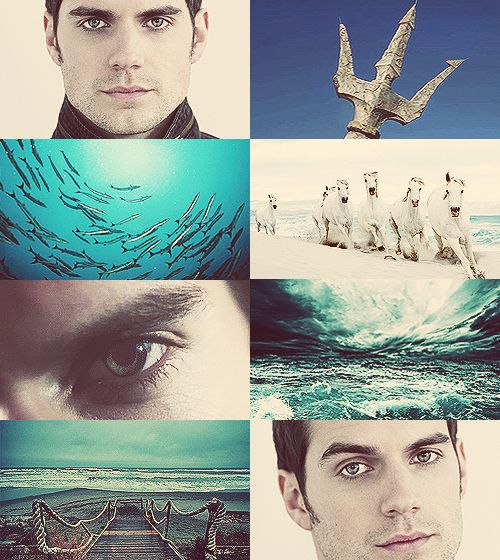 Greek Mythology Dreamcast-Henry Cavill as Poseidon Hear, Poseidon, ruler of the sea profound, whose liquid grasp begirds the solid ground; who, at the bottom of the stormy main, dark and deep-bosomed holdest they watery reign.(x)
