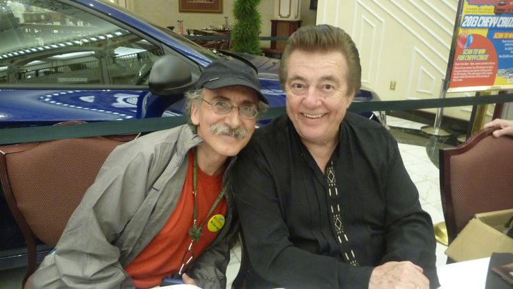 Barry posing with Ray St. Germain at Aboriginal Express  at Mcphillips Casino Winnipeg on June 21 FREE concert with Ray St. Germain.