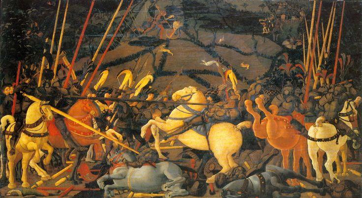 44. Bitwa pod San Romano, Paolo Uccello