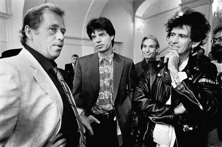 Václav Havel and The Rolling Stones
