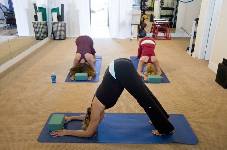 Joining A Yoga Class.  12 Ways To Exercise Without Even Realising You're Burning Calories - Toat