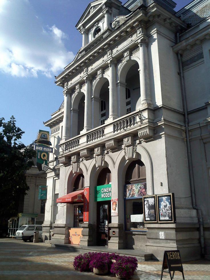 Banca Populară(1910) azi cinema Sebastian Papaiani, Str. Victoriei 20, Pitești