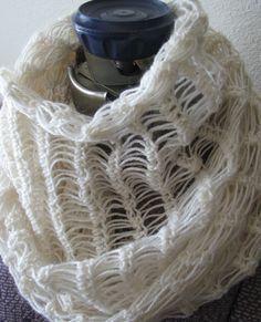 Ravelry: Tunisian Mobius Loop Shawl pattern by Jennifer Tan