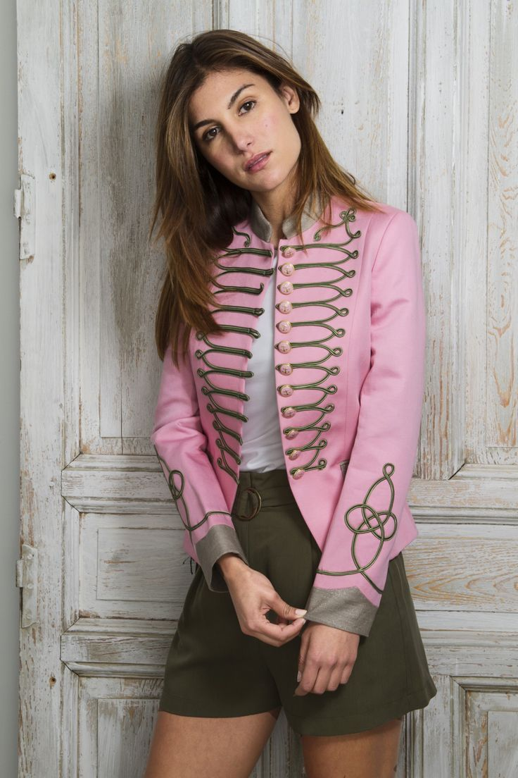womens military style jacket by THE EXTREME COLLECTION  www.theextremecollection.com