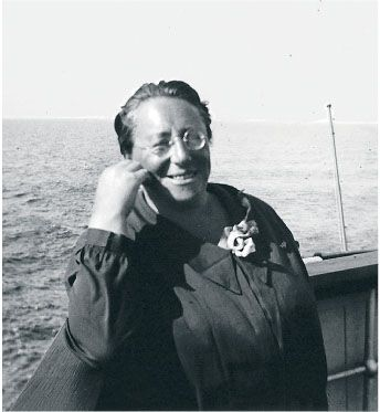 Emmy Noether. Amazing woman, amazing mathematician. Noether did trail-blazing work in a number of areas, especially abstract algebra. Rather than focusing on real numbers and polynomials she was interested in abstract structures, like rings or groups, that obey certain rules. She went on to prove fundamentals that now underpin modern physics:  Noether's theorem states that any differentiable symmetry of the action of a physical system has a corresponding conservation law.