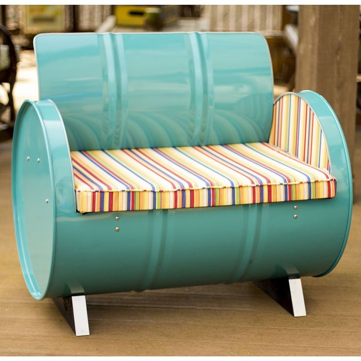 25 Best Ideas About 55 Gallon Steel Drum On Pinterest Steel Drum Barrel Furniture And Used Drums