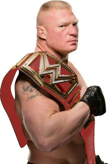 Brock Lesnar - WWE Champion of the belt