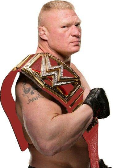 Brock Lesnar - WWE Champion of the belt