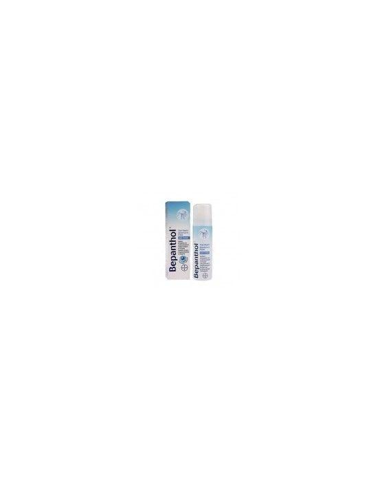 BEPANTHOL COOLING FOAM SPRAY 75ML Το σπρέι αφρού Bepanthol δροσίζει αμέσως τα ελαφρά εγκαύματα και τα ήπια ηλικά εγκαύματα και παρέχει ενυδάτωση μακράς διάρκειας ενισχύοντας τη φυσιολογική διαδικασία ίασης και καταπράυνσης του ερεθισμένου δέρματος