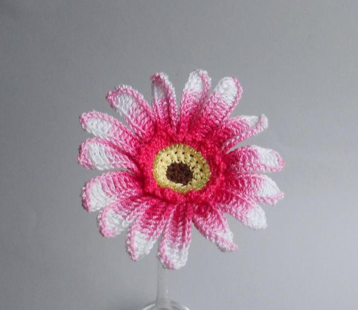 Ravelry: Gerbera Daisy by Claudia Giardina Crochet Pinterest Ravelry, P...