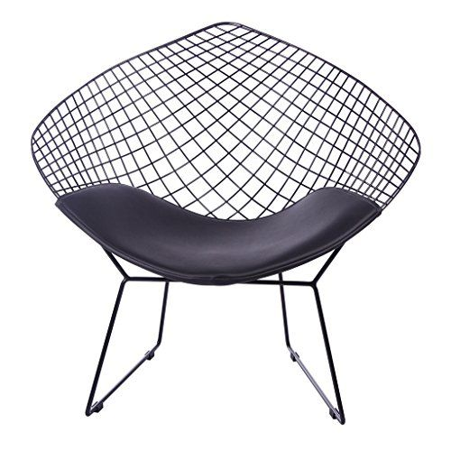 Ffl2019 Nordic Openwork Iron Chair Iron Mesh Chair Mesh Gold