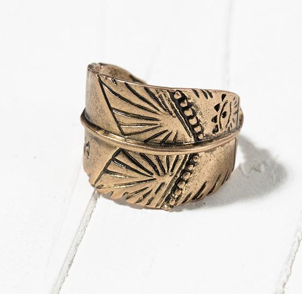 Trending in my store today⚡️ Aztec Ring http://kamaste.com/products/aztec-ring