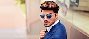 Key Hairstyle For Men: The Modern Pompadour - http://www.fashionbeans.com/2014/key-2014-hairstyle-for-men-the-pompadour/