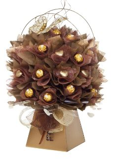 Make this yourself - Visit our training pages http://www.cocoblooms.com/start-your-own-chocolate-bouquet-business/